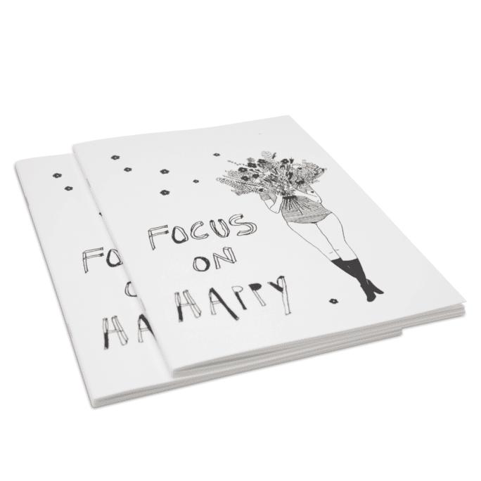 Carnet de notes Focus on Happy & Flower Girl