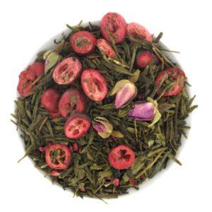 Thé vert Rose Baiser