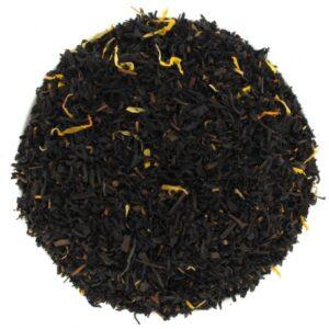 Thé noir doux au miel