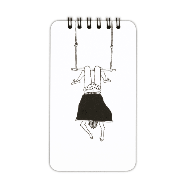 Bloc-notes Trapeze Girl