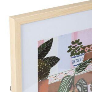 Cadre décoratif POT FLEUR 40x50cm
