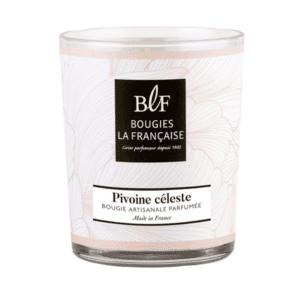 Bougie parfumée 40h Pivoine Céleste