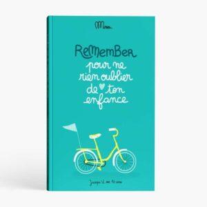 Livre à remplir «Remember, pour ne rien oublier de ton enfance»