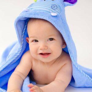 Serviette bébé HENRY L'HIPPO