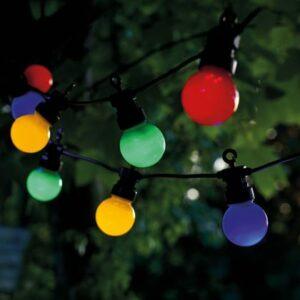 Guirlande LED solaire LUCAS mix color