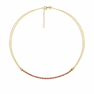 Collier CHERRY TRACY GOLD
