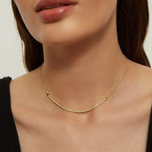 Collier LIME TRACY GOLD