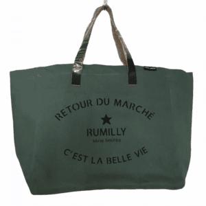 Sac Retour de Marché Rumilly coloris avocat