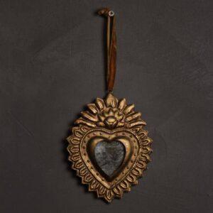 Ex-voto coeur miroir