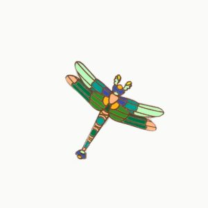 Pin's DRAGONFLY