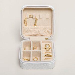 Boîte à bijoux de voyage