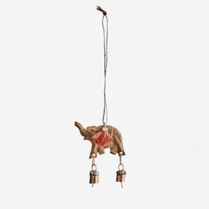 Décor à suspendre Elephant avec clochettes